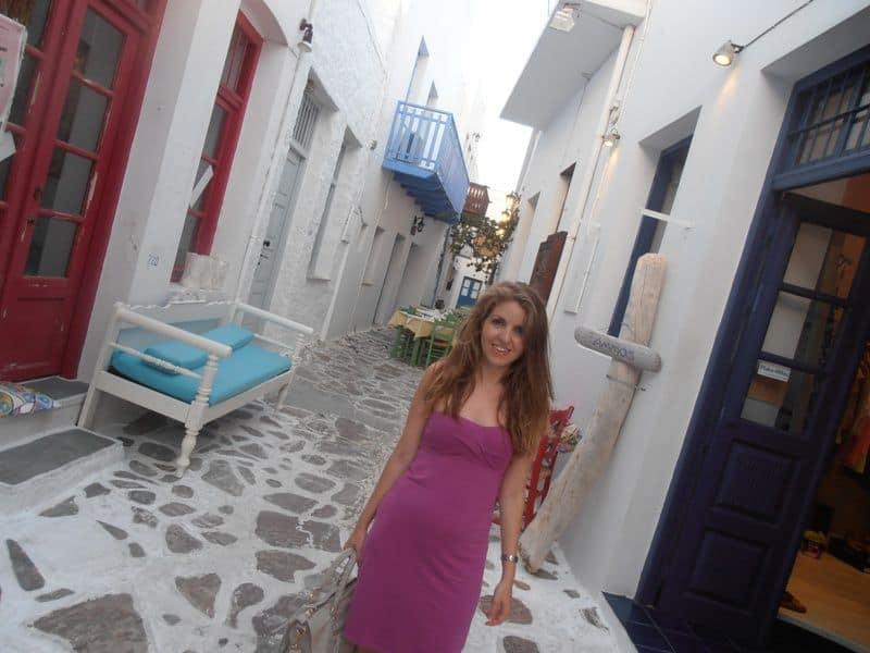 Me at Plaka Milos Island