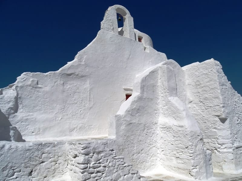 Panagia Paraportiani Church in Mykonos is among the popular Mykonos attractions