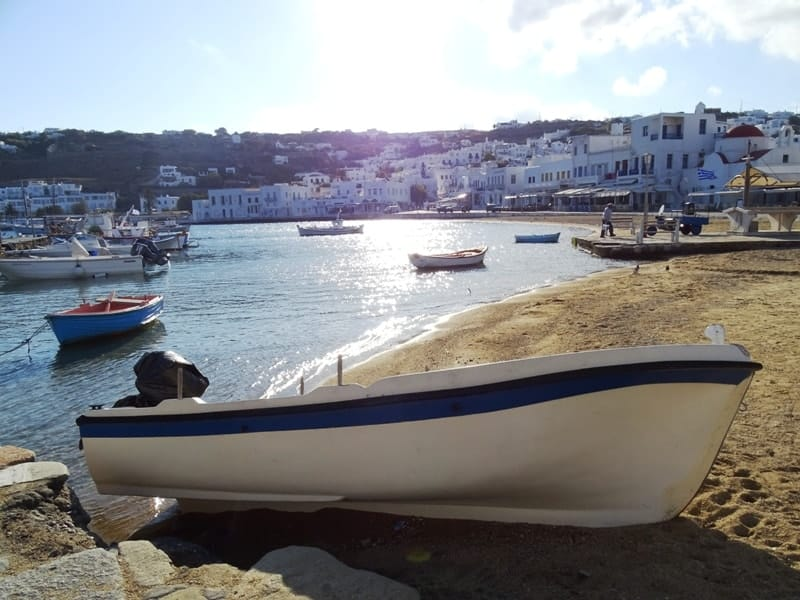 The old harbour of Mykonos - what to do mykonos