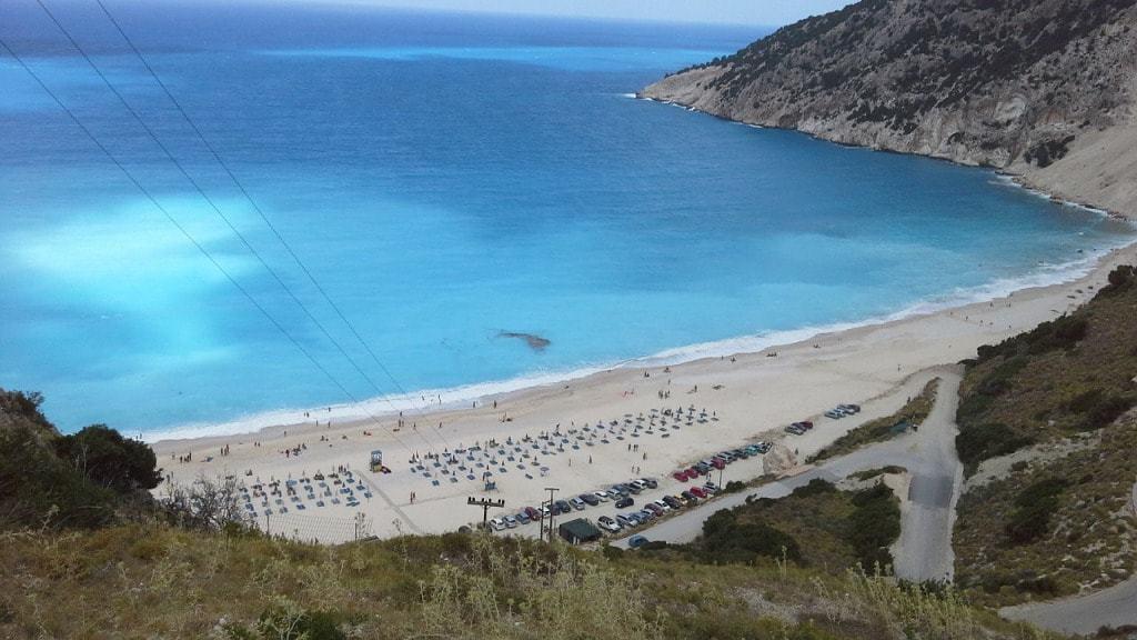 Myrtos Beach Kefalonia - things to do in Kefalonia