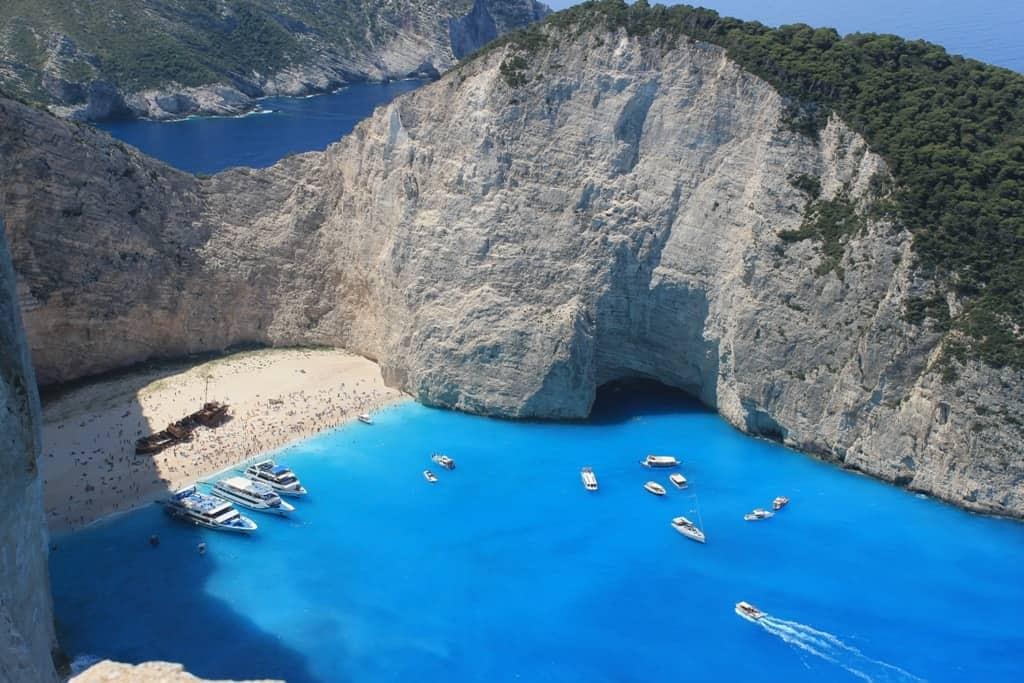 Navagio/ Shipwreck beach -The best Zante beaches