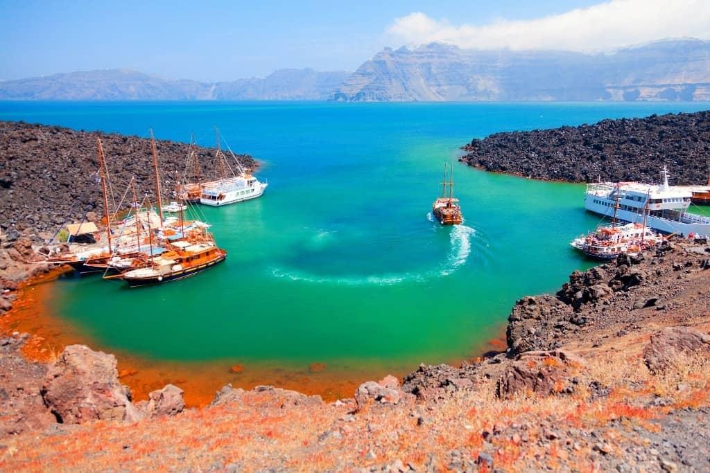 volcano-cruises -The Best Santorini Tours