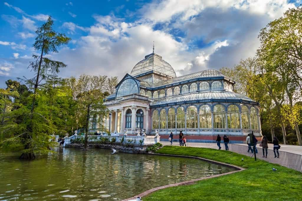 Palacio Cristal- 3 days in Madrid what to do and see