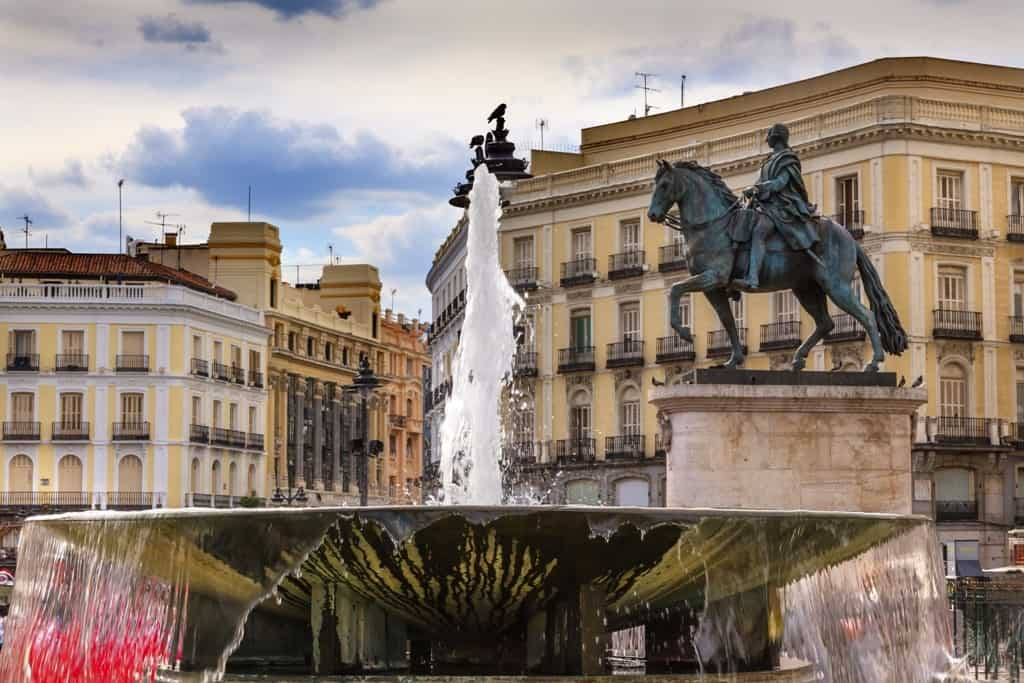 Puerta del Sol - 3 days in Madrid what to do and see