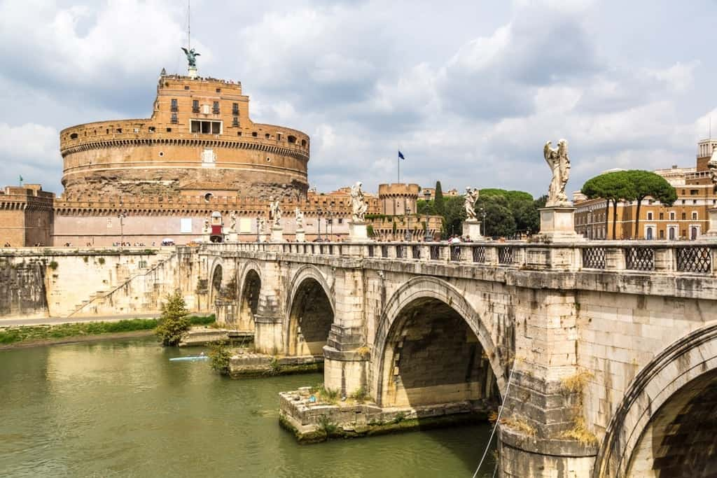Castel Sant Angelo - 5 days in Rome