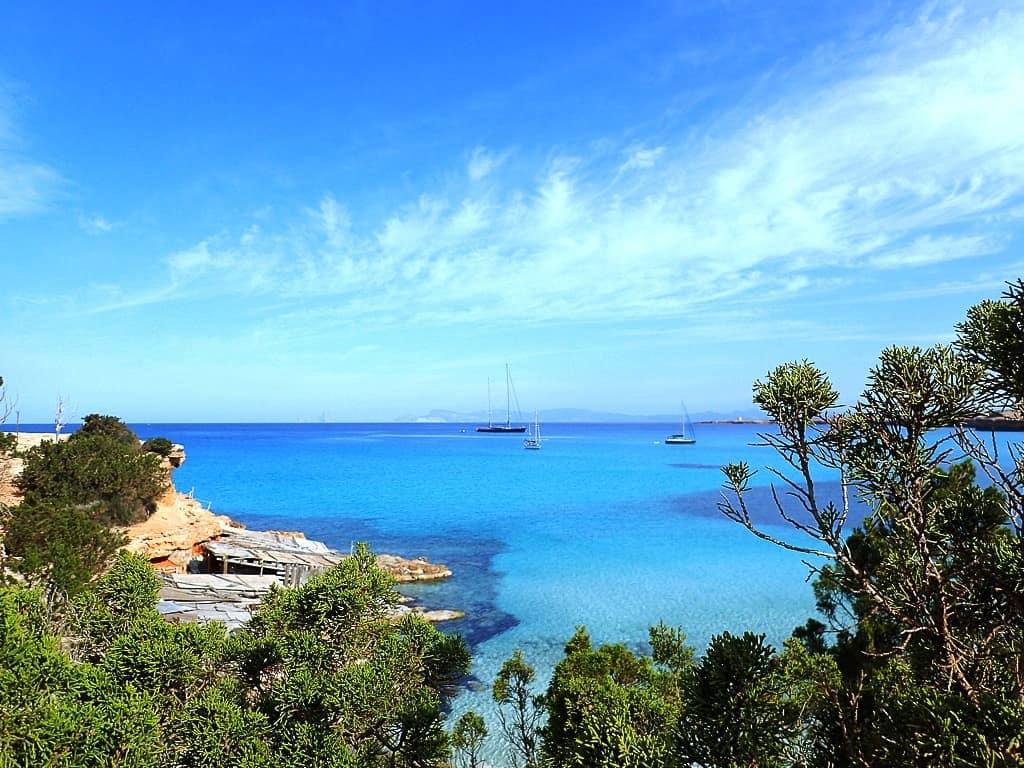 Cala Saona, Formentera, Spain -The Best Mediterranean Beaches
