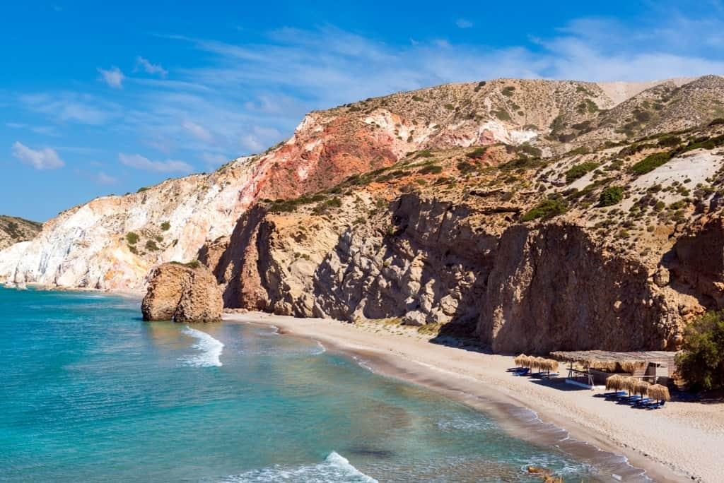 Firiplaka Beach -The Best Milos Beaches