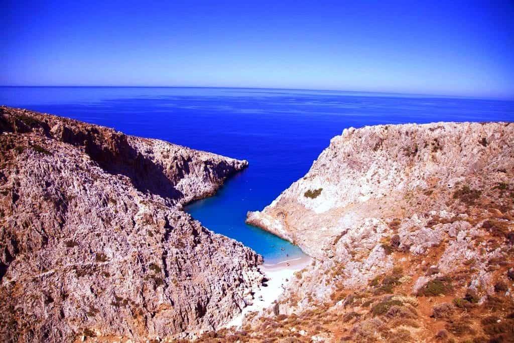 Stefanou Beach, Crete, Greece -The Best Mediterranean Beaches