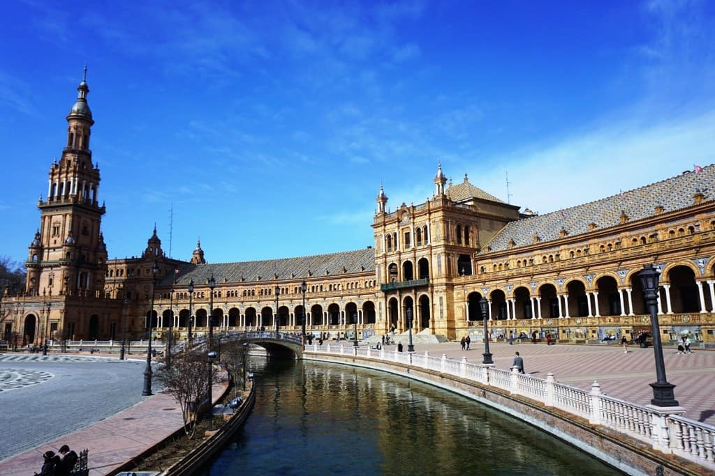 One Day in Seville - Plaza de España