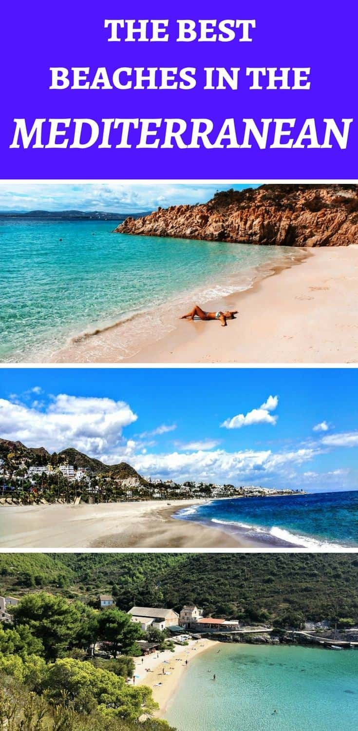 Check out the most beauitiful Mediterranean beaches and Mediterranean summer destinations