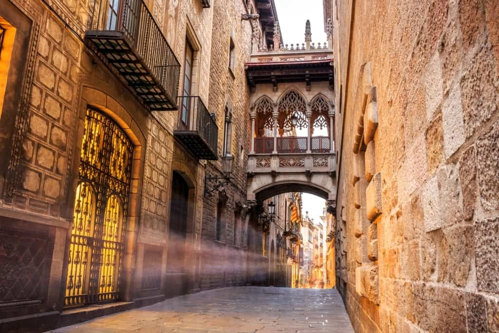 Gothic Quarter - 10 days in Spain