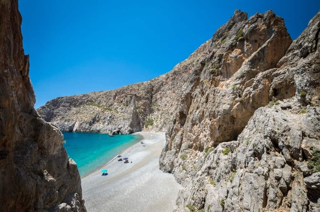 Agiofarago beach -Best beaches in Crete