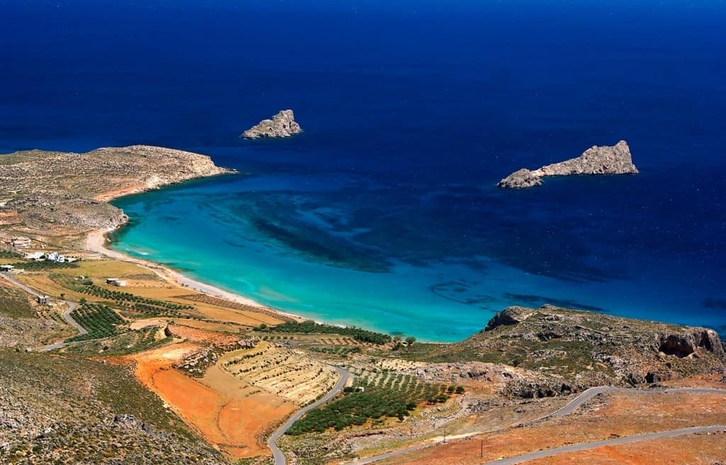 Xerokambos Best beaches in Crete
