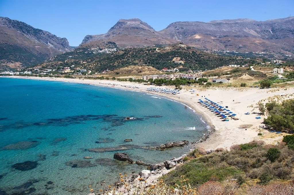 Plakias beach Best beaches in Crete