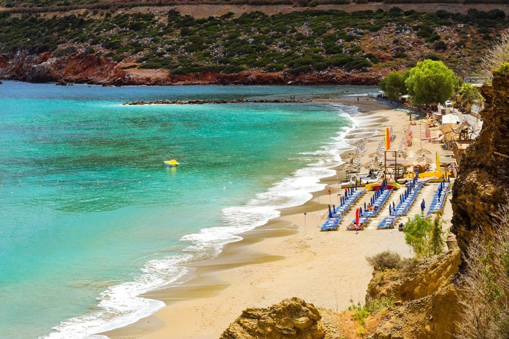 Livadi beach Best beaches in Crete
