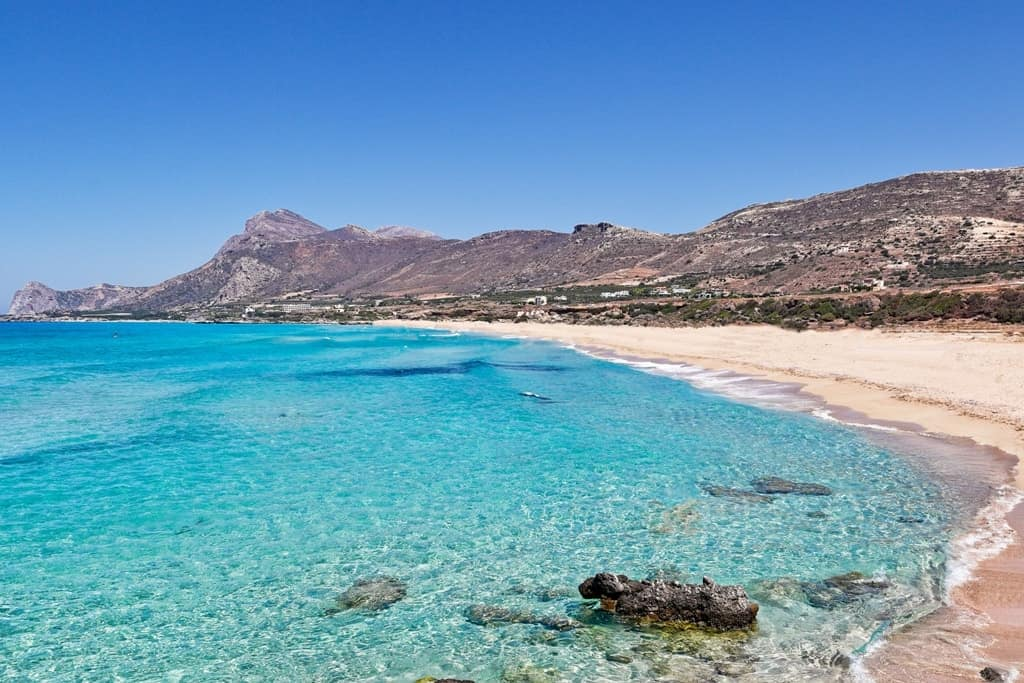 Falassarna - Best beaches in Crete