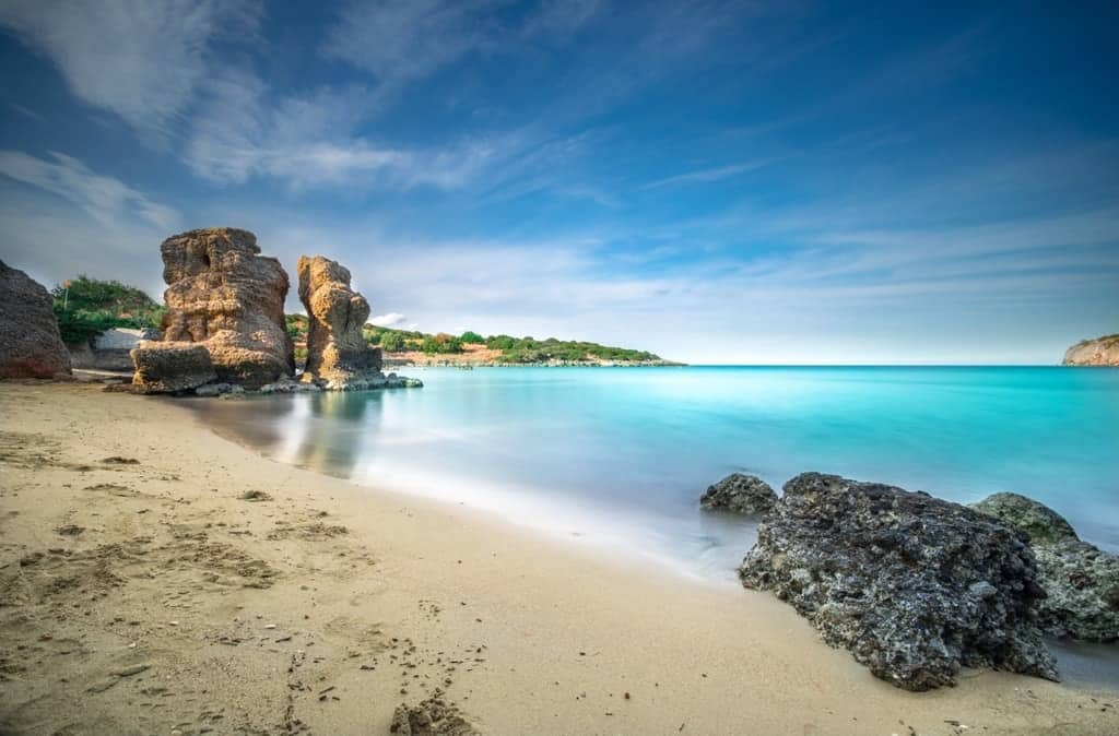 Voulisma beach, Istron -Best beaches in Crete
