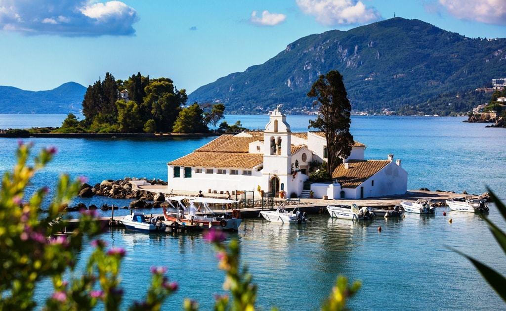 Things to do in Corfu -Kanoni and Pontikonisi