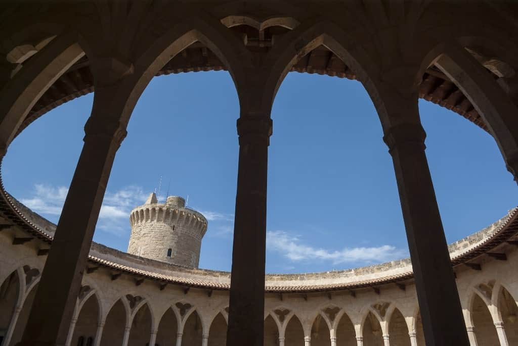 Castell de Bellver is one of the top things to see in Majorca