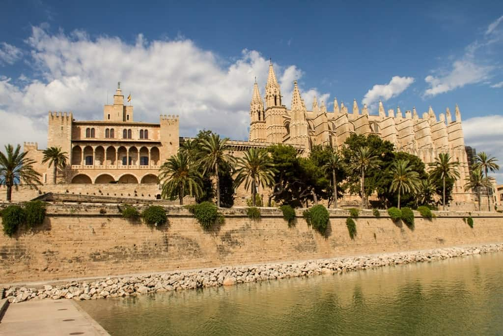 Palacio Real de La Almudaina is one of the things to see in Mallorca