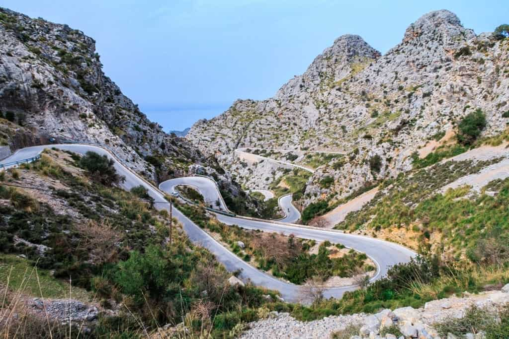 Things to do in Majorca - Sa Calobra road