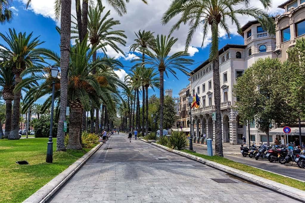 Street of Palma de Mallorca