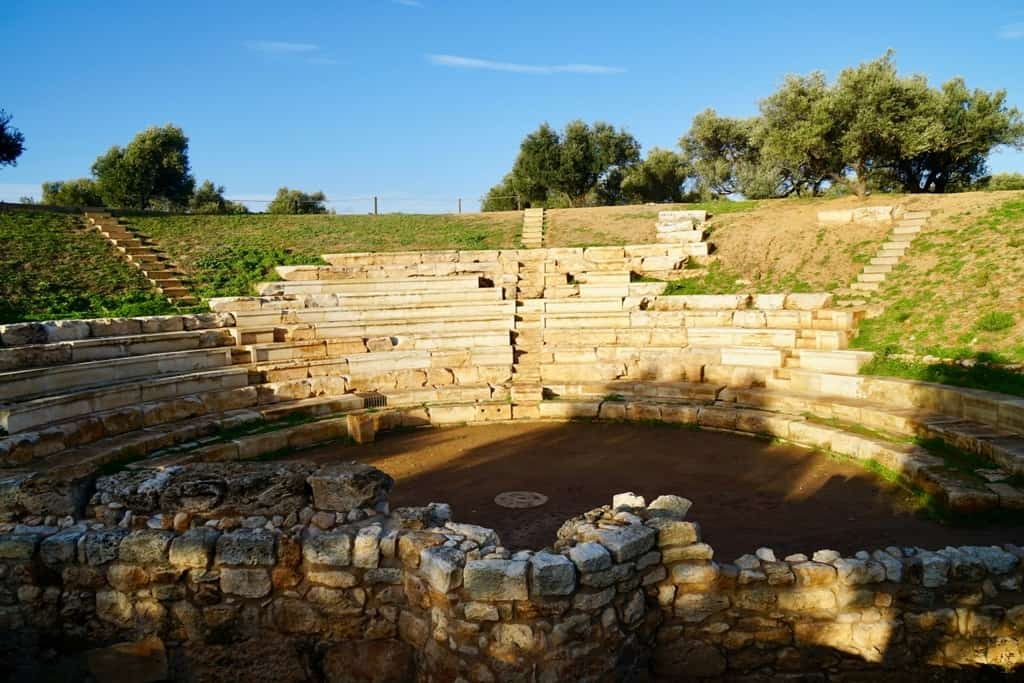 Ancient City of Aptera - Top things to do in Crete