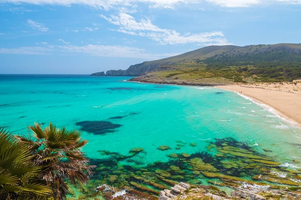 Cala Mesquida - best beaches in Majorca