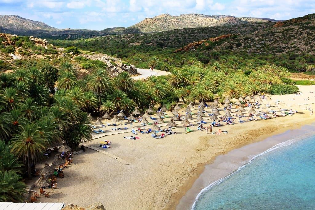Vai Beach - top things to see in crete