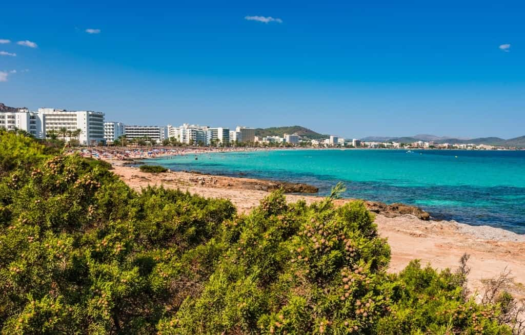 Cala Millor - best beaches in Majorca
