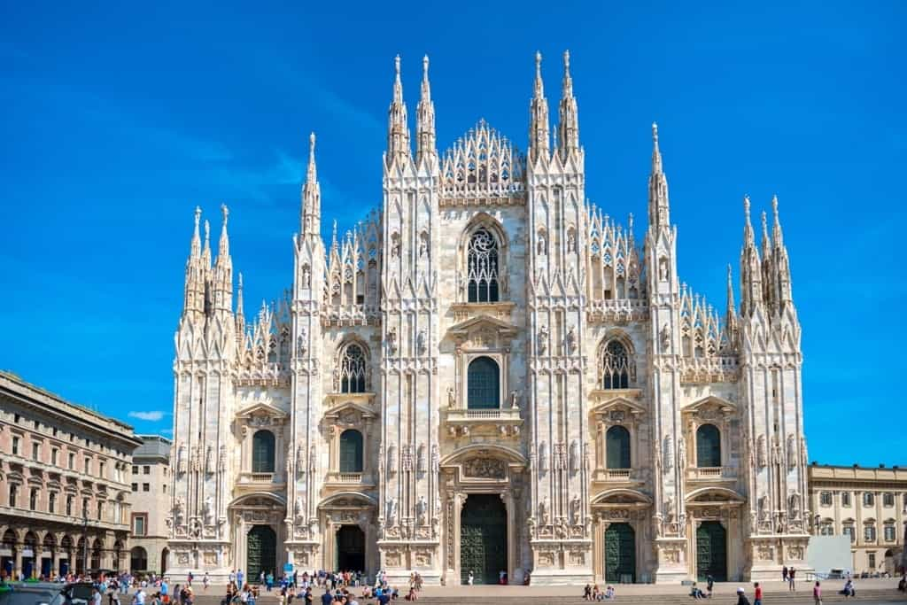 famous Milan Cathedral - one day in Milan