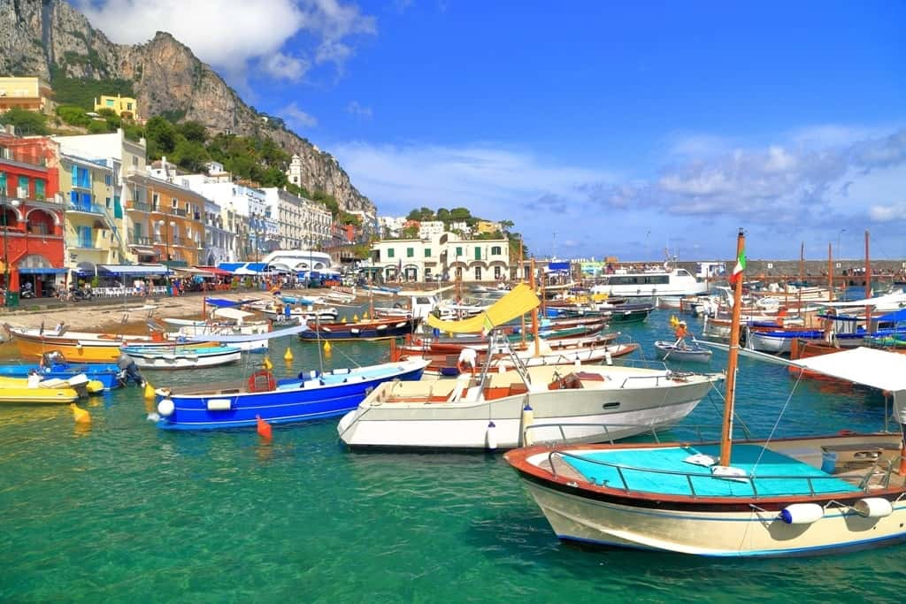 Marina Grande - things to do in Capri