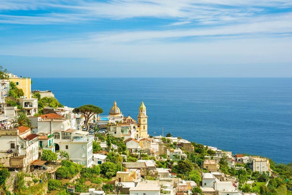 Beautiful Amalfi Coast Towns and Villages- Praiano