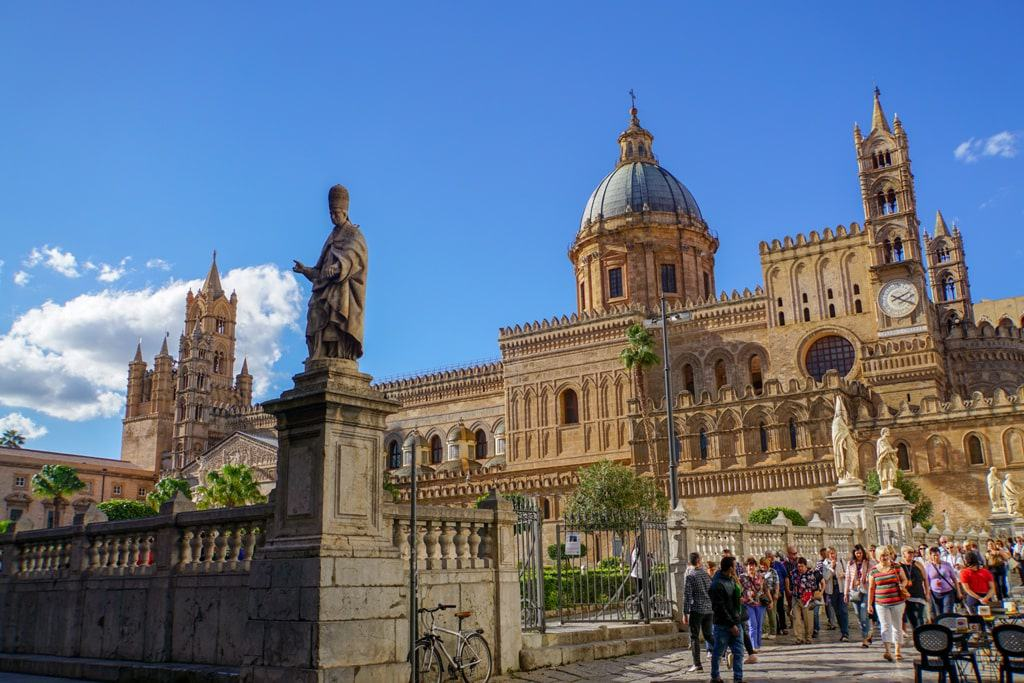 Cathedral of Palermo - One day in Palermo Italy