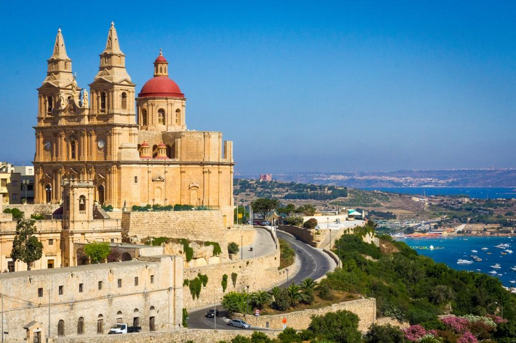 where to stay in Malta - Mellieha