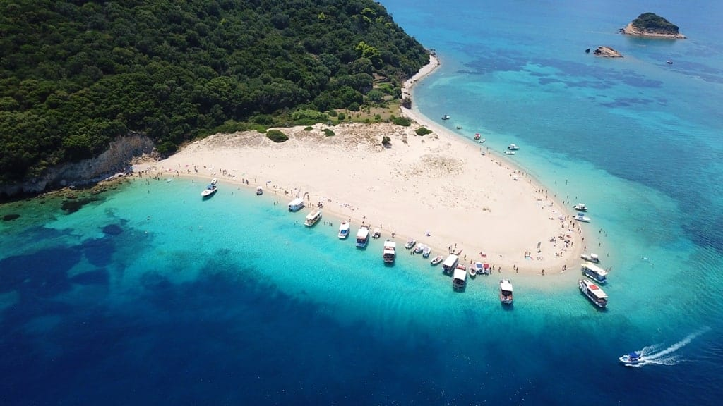 Marathonissi from above things to do in Zante