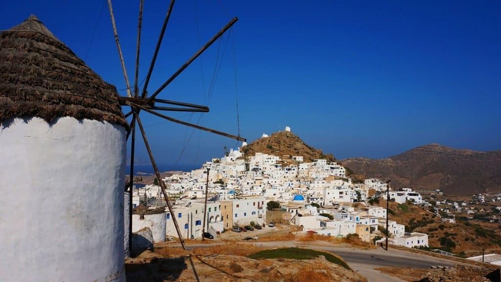 Chora of Ios - Greek Island Hopping Routes