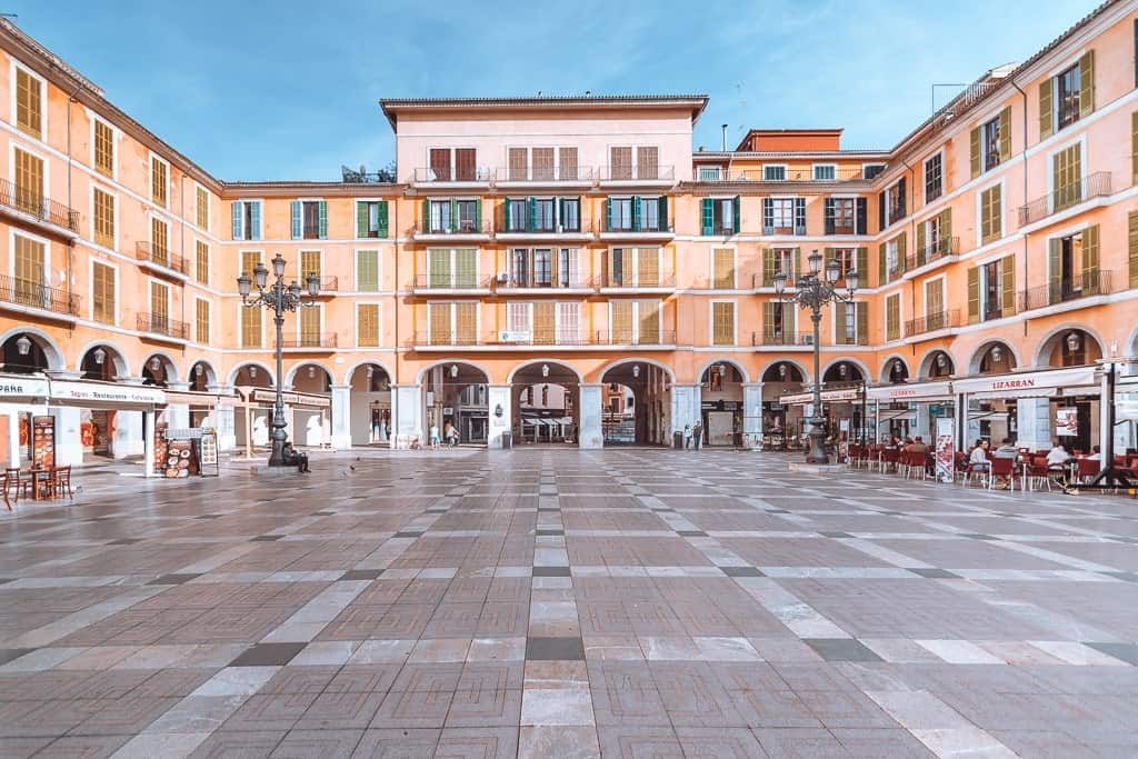 Plaza Mayor - things to do in Palma