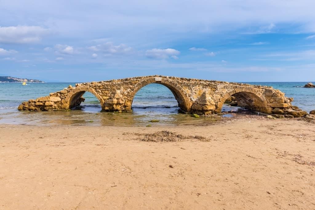 Bridge of Argassi in Zakynthos