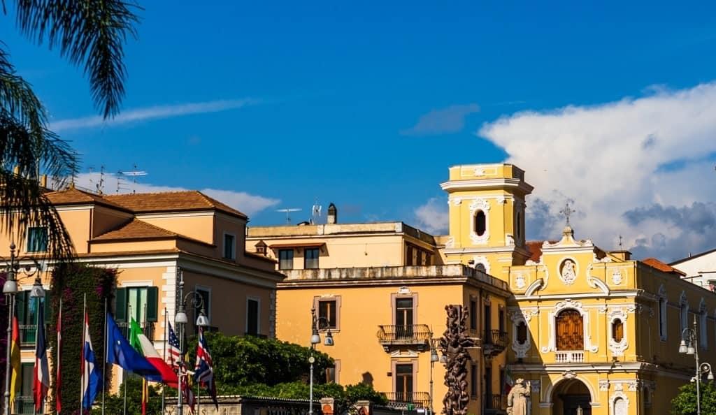 Piazza Tasso in Sorrento Italy
