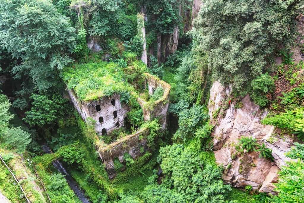 Mill's Gorge (Vallone dei Mulini) Sorrento Italy
