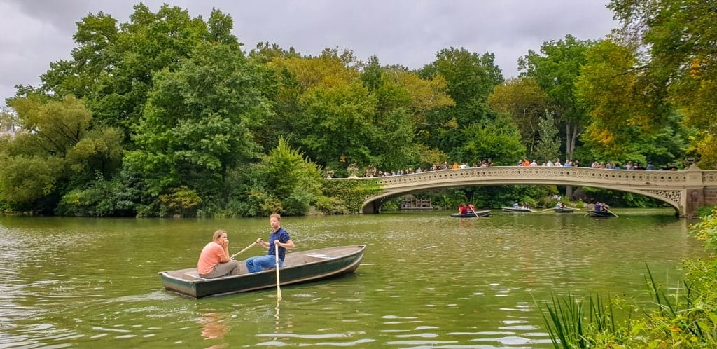 Central Park - Five day New York itinerary