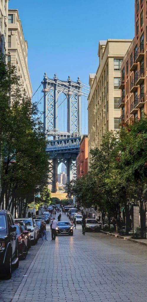 DUMBO Brooklyn 2- Five day New York itinerary