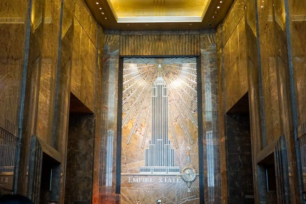 Empire State building - Five day New York itinerary