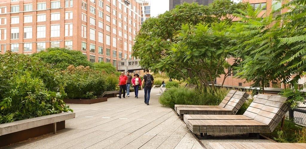 High Line - 5 days in New York city