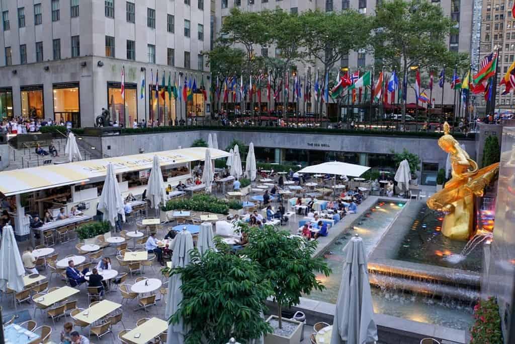 Rockefeller Center - 5 days in New York