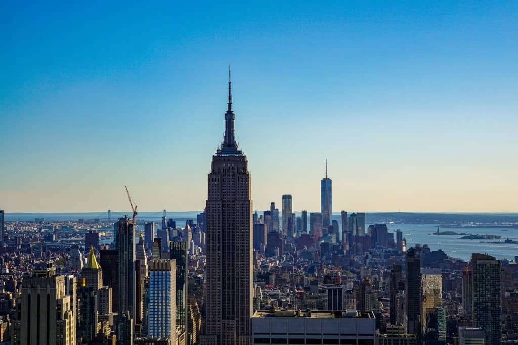 Top of the Rock - New York itinerary 5 days
