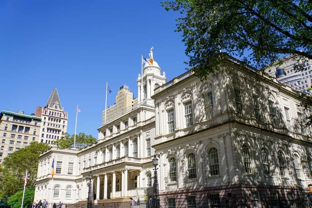 city hall - Five day New York itinerary