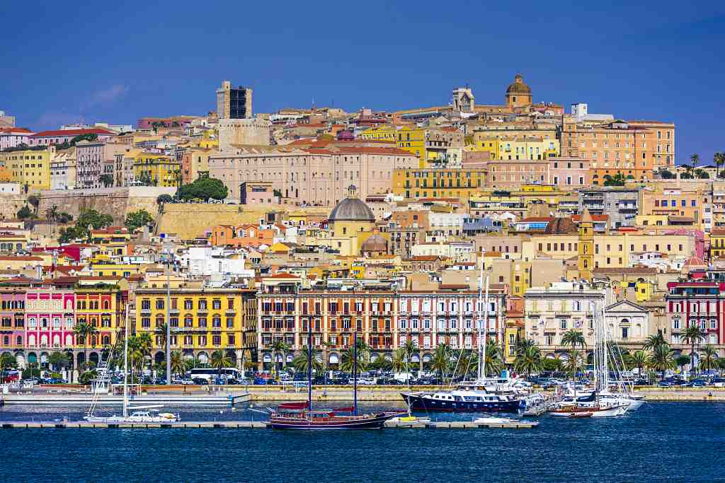 Cagliari, Sardinia - best places to visit in Italy in September