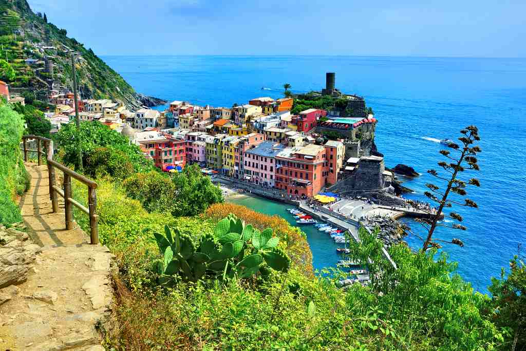 Cinque Terre - best places to visit in September in Italy